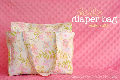 Dolly+Diaper+Bag+Tutorial